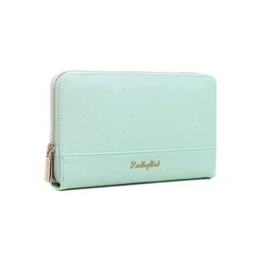 Organiser purse - tiffany green
