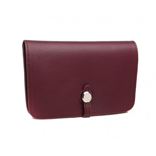 Paris purse - aubergine