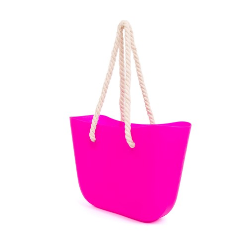 Beach Bag - Bright Pink