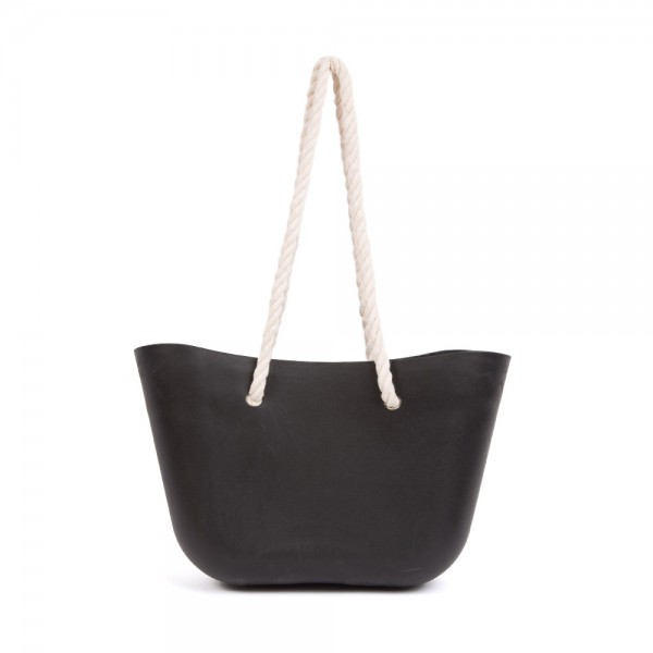 Silicone Beach Bag - Black