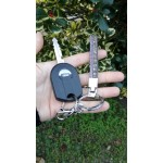 Key Ring Bling - Dark Grey
