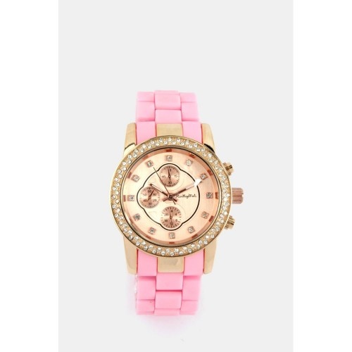 Ohio Watch - Pink & Rose Gold
