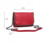 Della chain bag - red