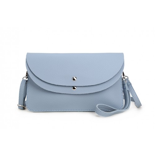 Farnham clutch/messenger - Pastel blue