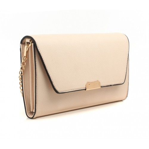 Valentina clutch - Cream