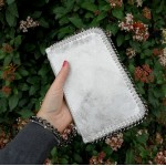 Ella mini clutch - silver