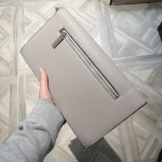 Ava clutch - Light grey