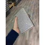 Sparkle clutch bag - Silver