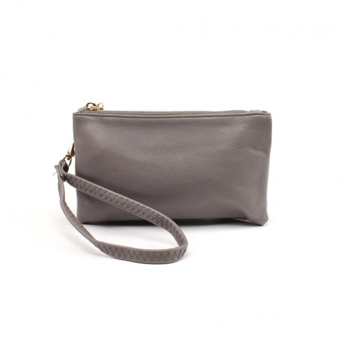 Bella clutch - Dark grey