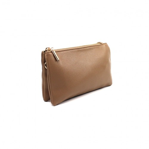 Bella clutch - Taupe