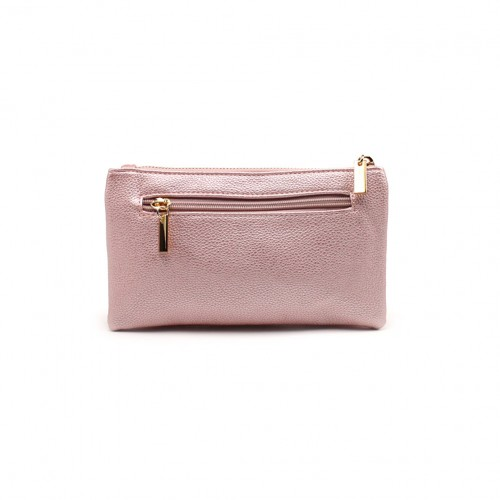 Bella clutch - Unicorn pink metallic