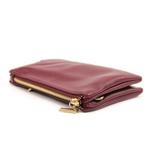 Bella clutch - Aubergine