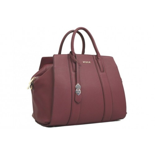 London overnight bag- Aubergine