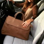 Genevieve weekend holdall Cappuccino Brown