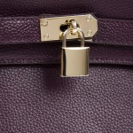 Paris Mini Tote Purple