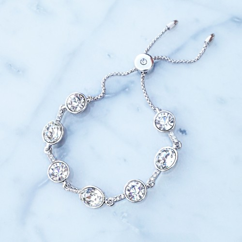 Crystal bracelet - clear crystal