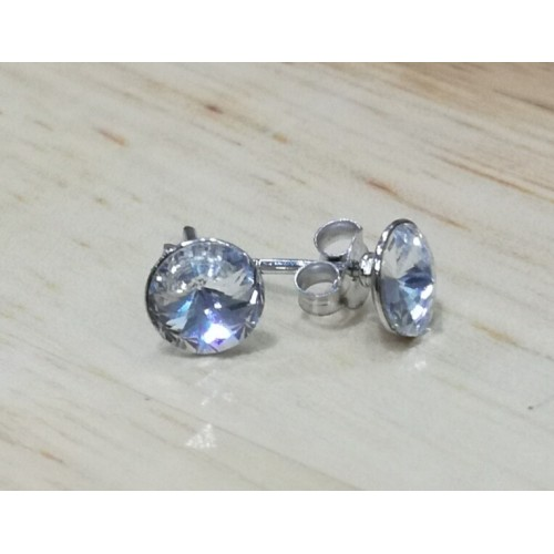Small crystal studs - Clear