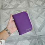 Passport cover - Lavender