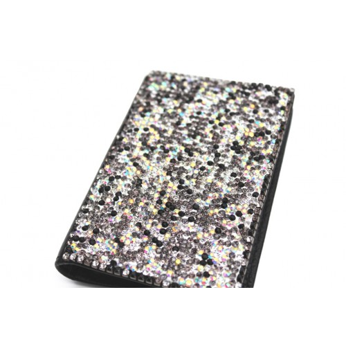 Crystal Card Holder Black