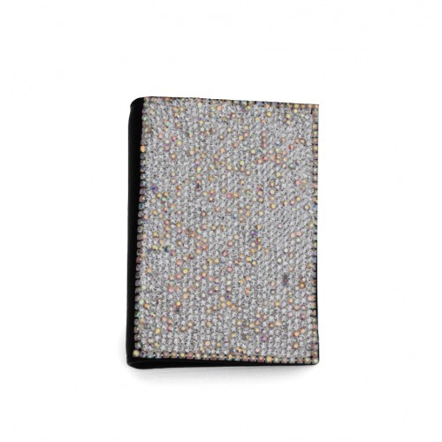 Crystal Card Holder Silver