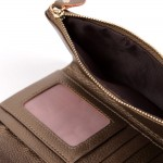Selina Real Leather Bow Purse Bronze