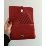 Paris purse - pillarbox red