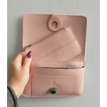Paris purse - Candy floss pink