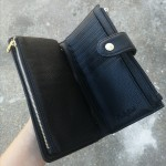 Two tone purse - Bronze/black
