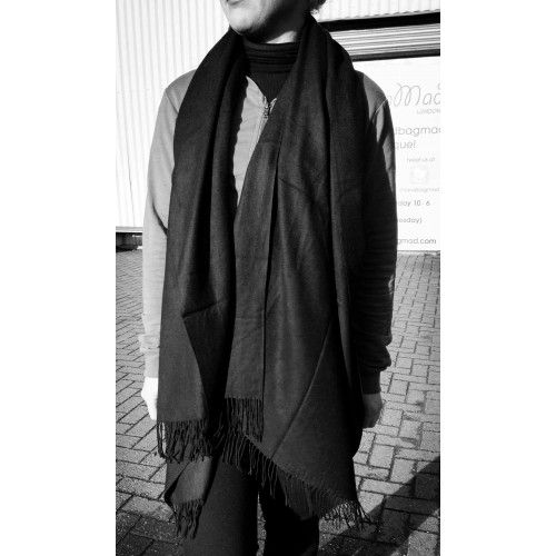 Winter scarf - black