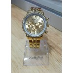 Carolina watch - Gold with gold face