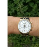 Carolina watch - Gold with silver face