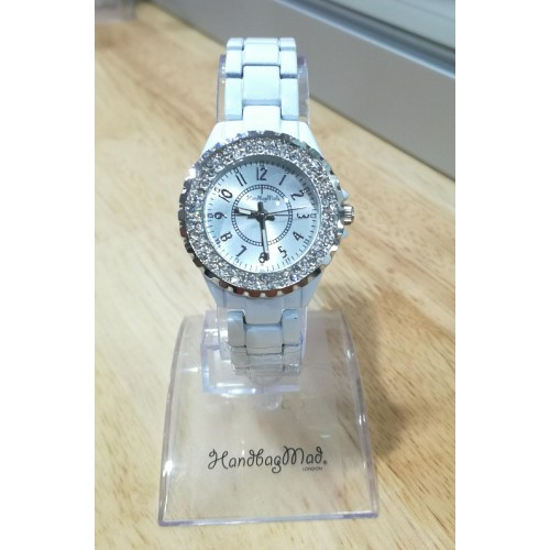 Small face iowa watch - White/Silver