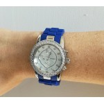 Ohio Watch - Royal blue/ silver