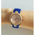 Ohio Watch - Royal blue/ rose gold