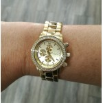 Michigan Watch - Gold with gold face