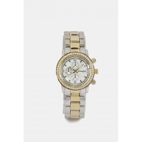 Michigan Watch - Silver & Gold 2 tone